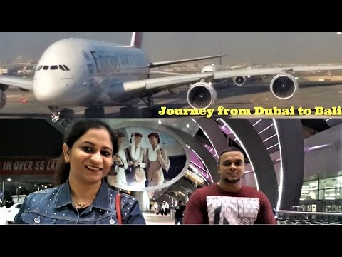 Journey from Dubai to Bali   2016