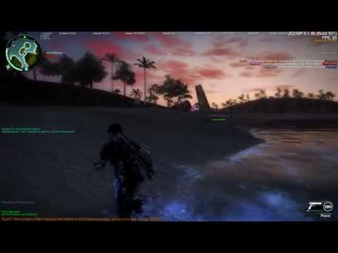 Just Cause 2 Multiplayer - O Carro ta Voando