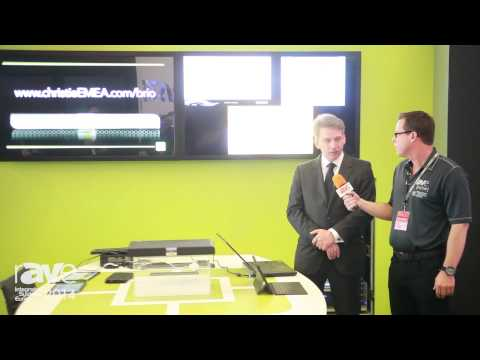 ISE 2014: Nick Wheeler Shows rAVe the Christie Brio