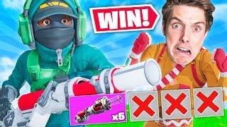 I WON WITH BANDAGE BAZOOKA ONLY! Ft. Lazarbeam