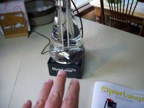 Part 2 - SilverLungs Colloidal Silver Generator - Honest Review & Demo