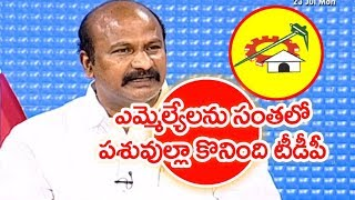 We Are Not Afraid Of TDP Party: YCP Rajasekhar | #PrimeTimeWithMurthy
