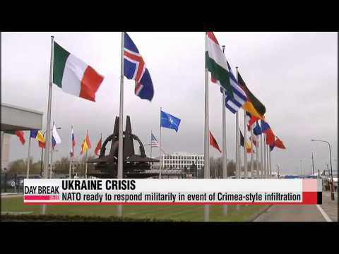NATO ready to respond militarily in event of Crimea-style infiltration