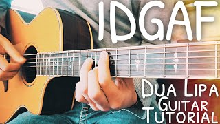 Download Lagu IDGAF Dua Lipa Guitar Lesson for Beginners // IDGAF Guitar // Lesson #486 Gratis STAFABAND