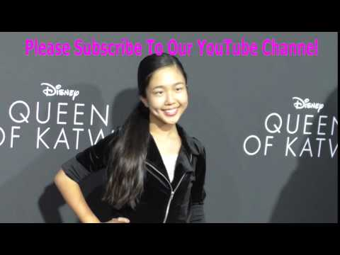 Nina Lu at the Premiere Of Disney's Queen Of Katwe at The El Capitan Theatre in Hollywood