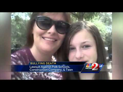 Rebecca Sedwick's mother files lawsuit against school board, cement plant owner