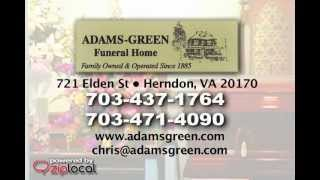 Adams Green Funeral Home  - (703) 437-1764