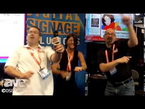 DSE 2017: Reach Media Network Dancing