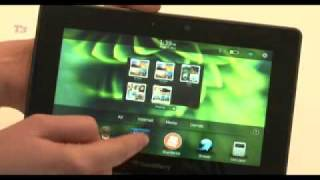 BlackBerry Playbook hands-on
