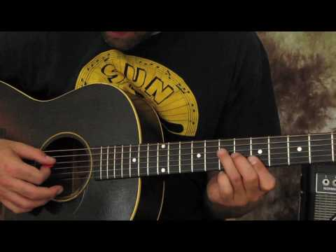 Learn How To Play Acoustic Blues Guitar Solos - Rock And Blues Guitar Lick