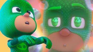 PJ Masks Deutsch Pyjamahelden ⭐ Zeitlupen-Gecko - Ganze Folgen! ⭐ Cartoons für Kinder