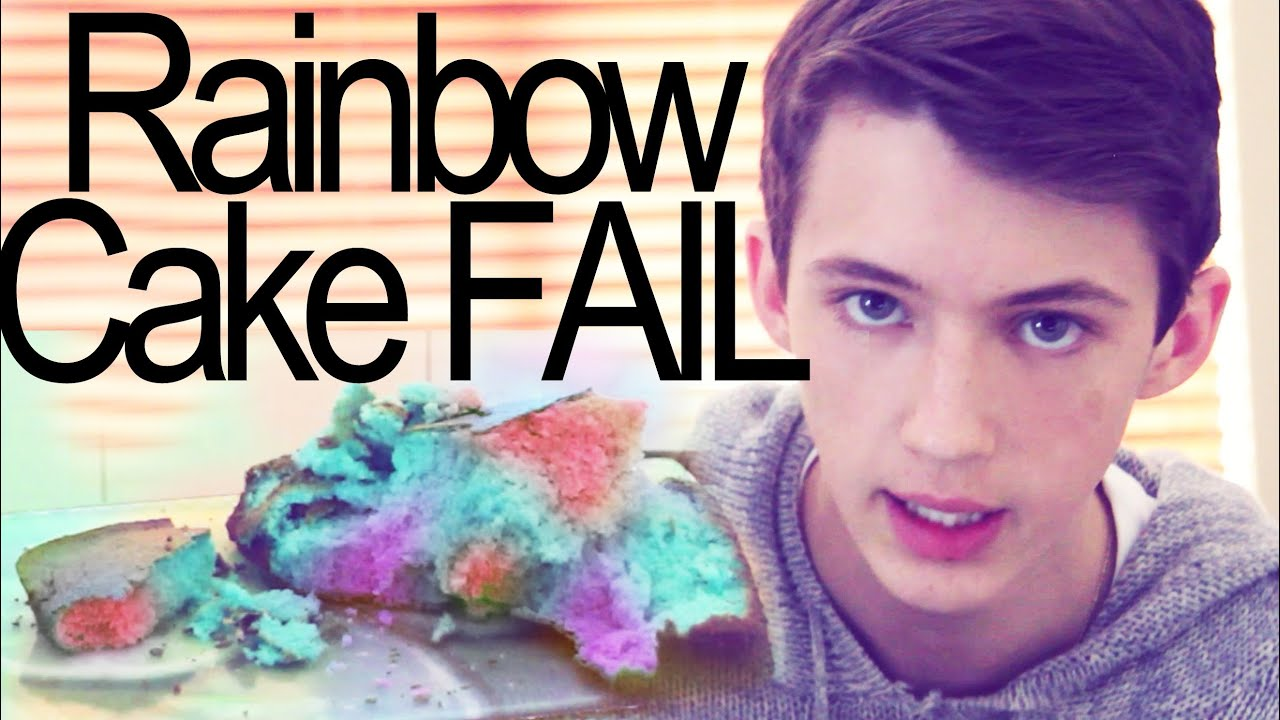 how to make a 3 layer rainbow cake