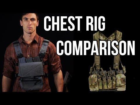 Chest rig comparison (Mayflower, Haley Strategic, Spiritus)
