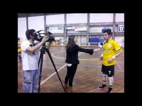 Entrevista com Lu�s Martins (HC Vasco Gama - ACR Pessegueiro Vouga)