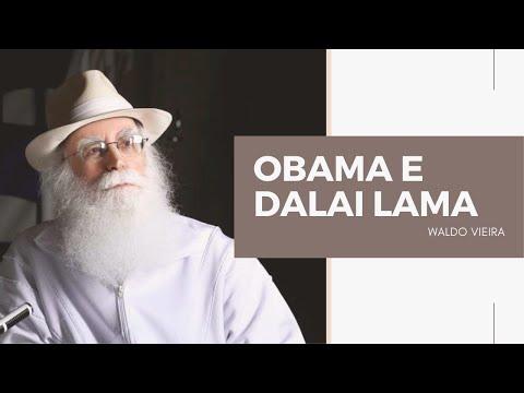 Obama e Dalai Lama - Waldo Vieira