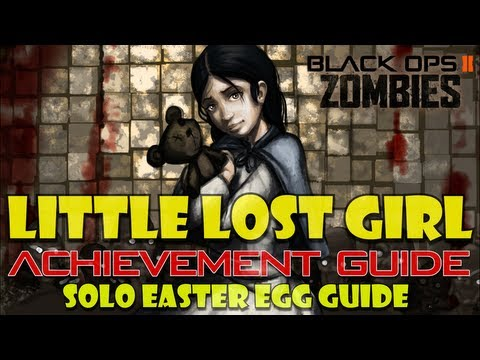 Little Lost Girl Achievement Guide (solo) | Black Ops 2 Zombies video