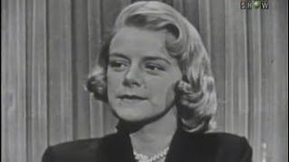 What 39 S My Line Rosemary Clooney Apr 24 1955