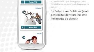 112 Accessible: aplicació per a persones sordes