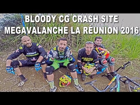 REMEMBERING 2013 MOUNTAIN BIKE CRASH - Stages Preview Megavalanche La Réunion 2016 - CG VLOG #09