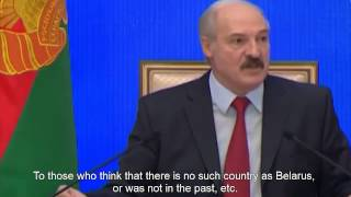 "Lukashenko warns Moscow against ""Russian world"" in Belarus. (English)"