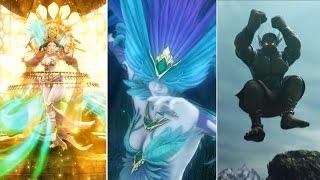 Final Fantasy Brave Exvius: All Esper Summons (2017 Updated - Lakshmi, Tetra Sylpheed, Odin, etc.)