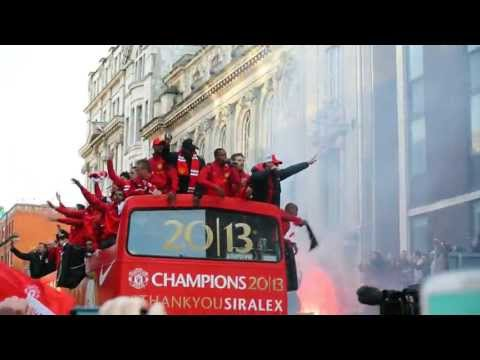 Manchester United, Champions 2013 Parade