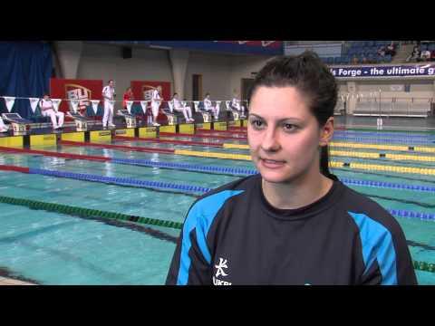 YouTube: Aimee Wilmott feeling great after BUCS Nationals 400m IM win