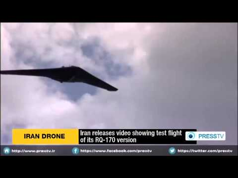 Iran Unveils Stealth Spy Drone.  Ayatollah says
