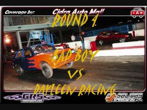 Import Bracket Racing - BAD BOY STARLET WIN - Rotores vs Pistones @ Sa