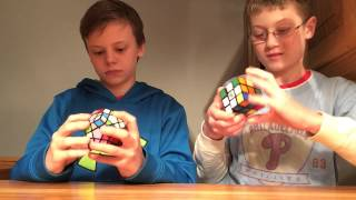 Let's race megaminx vs. 3x3 and 2x2