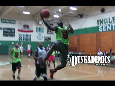 Terrell Owens Still Has BOUNCE! Dunks at Charity Game