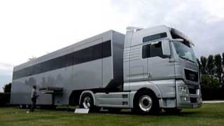 "Visibly Loud ""Articulated Dream"" - Luxury Motorhome RV - luxus wohnmobil - Arriving Silverstone #3"