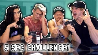 CHALLENGE! 5 SECOND RULE GAME! *Uncensored*