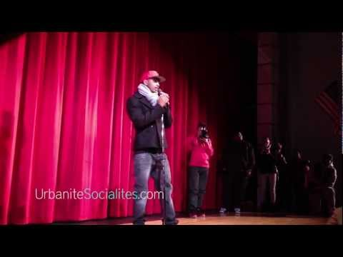 Trey Songz Encourages Students at Chaney High School (Youngstown, Ohio)