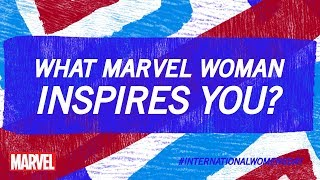 Happy International Women's Day from the Women of Marvel!