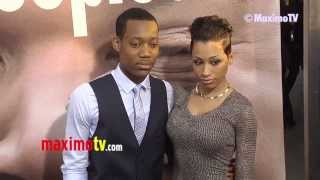 Tyler James Williams PEEPLES Premiere Black Carpet ARRIVALS @tylerjameswill