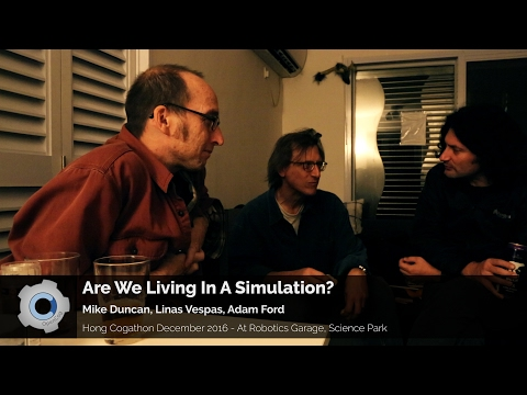 Are We Living in a Computer Simulation?
