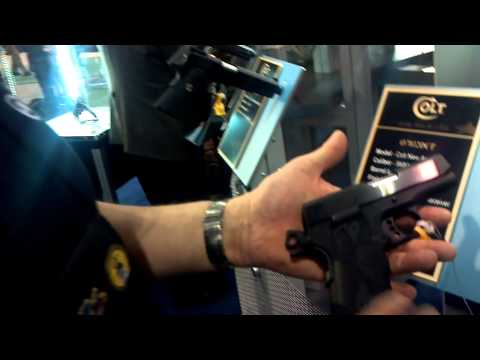 Colt Mustang and New Agent SHOT Show 2012 - FateofDestinee