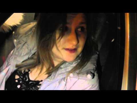 Пьяная девушка на Ладе 07.03.2013 Место происшествия