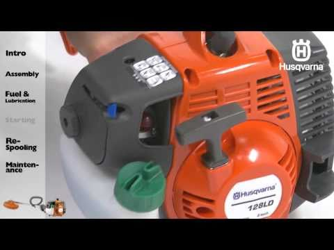 Husqvarna String Trimmers - Starting