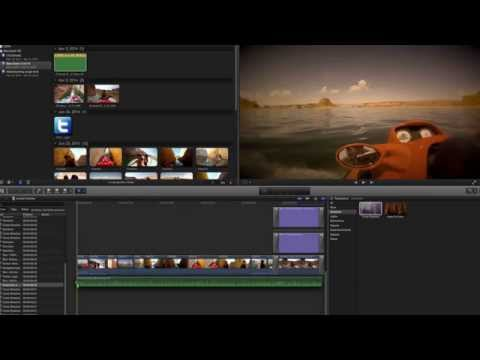 Final Cut Pro X - How To Delete All Audio At Once