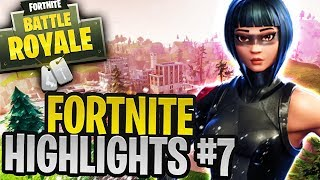 THE BEST PLAYS!! (Best Fortnite Highlights #7)