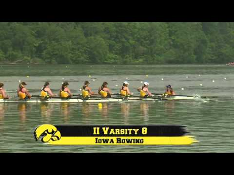 University of Iowa Women's Rowing at the 2013 Big Ten Championships