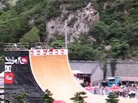Danny Way jumps the Great Wall Video
