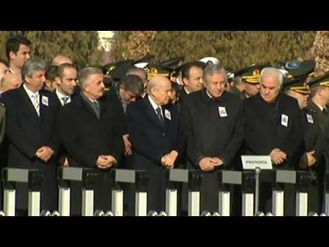 Ankaralı Şehidin Cenazesine Binali Yıldırım da Katıldı