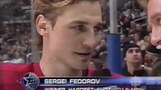 Hardest Shot NHL All-Star Game Skills 2002
