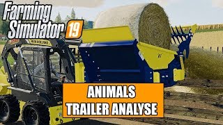 LS19 Animals Trailer Analyse