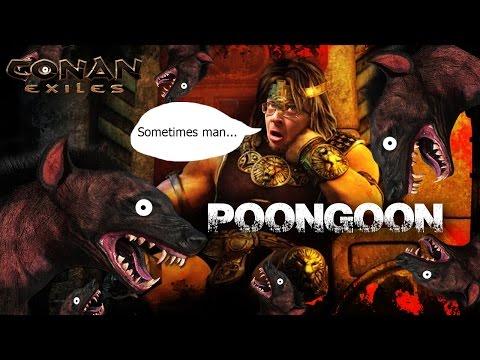 Conan Exiles Live - Poontang Clan #1