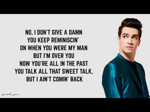 Panic! At The Disco - IDGAF (Lyrics)
