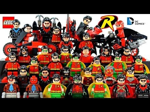 Epic LEGO® Robin™ The Boy Wonder 2016 DC Comics Minifigure Collection
